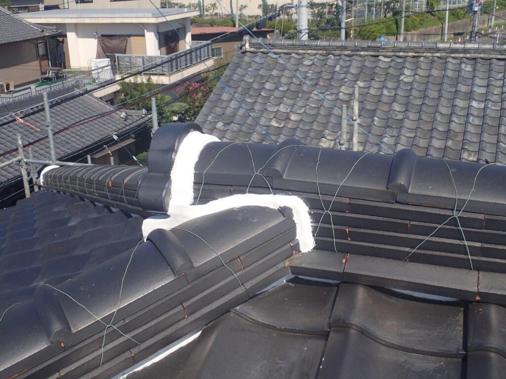 屋根漆喰 リフォーム