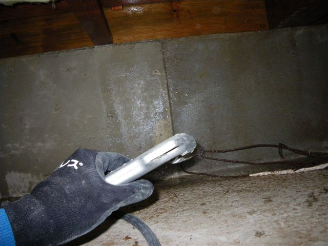床下防蟻処理